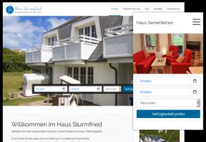Homepagebaukasten speziell für Ferienwohnungen