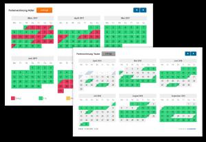 Flexibler Belegungskalender für Ferienwohnungen