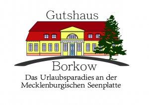 GUTSHAUS BORKOW-Das Urlaubsparadies an der Mecklenburgischen Seenplatte - Logo